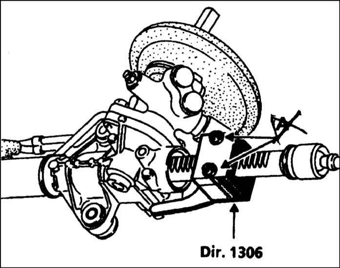 Снятие и установка поперечной рулевой тяги Рено Меган.