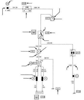 стеклоподъемники электрическая схема в zip архиве.