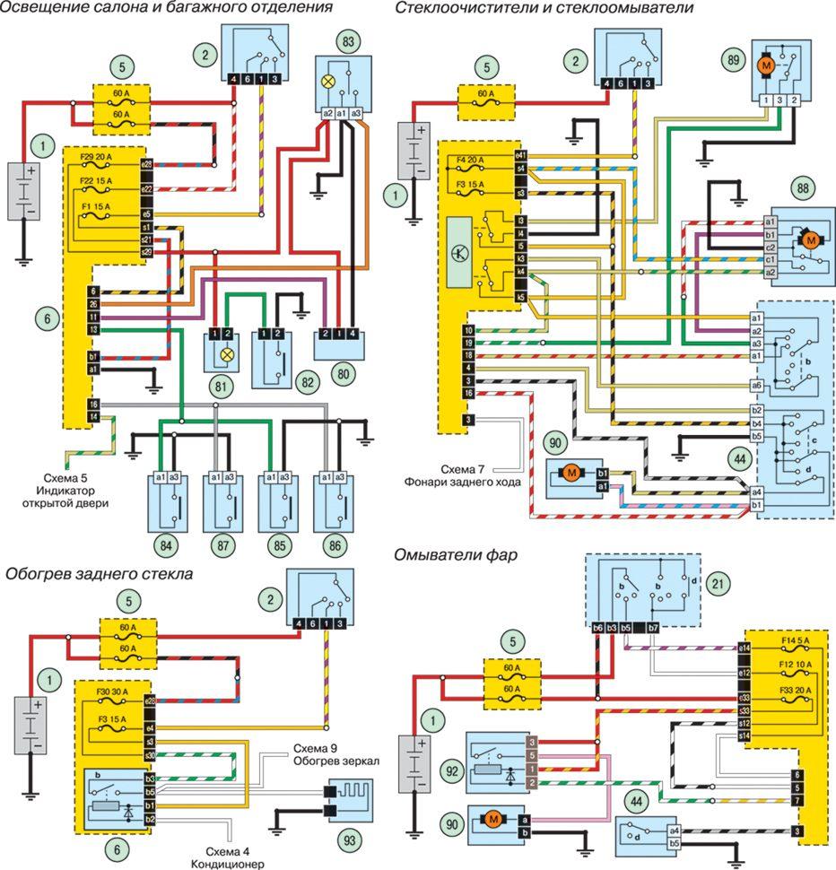 Схема электрооборудования рено логан 2007