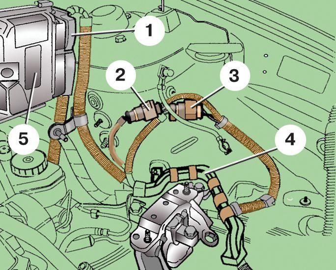 установка блока управления двигателем skoda fabia