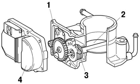 Электронная педаль газа, электронный дроссель, система e-gas, на