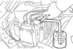 Прокачка системы ABS/VSC