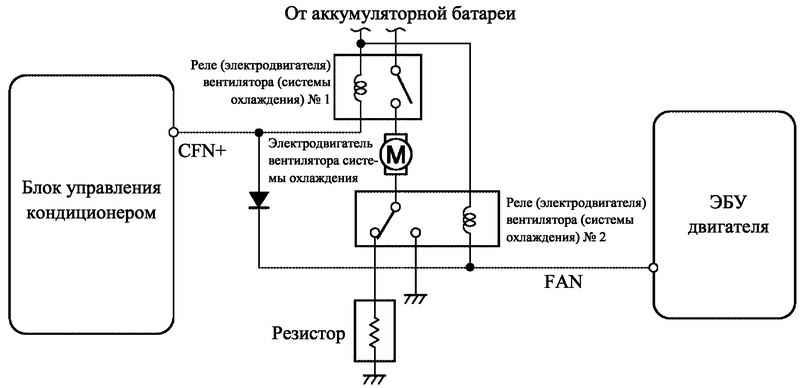 схема подключение кондиционера