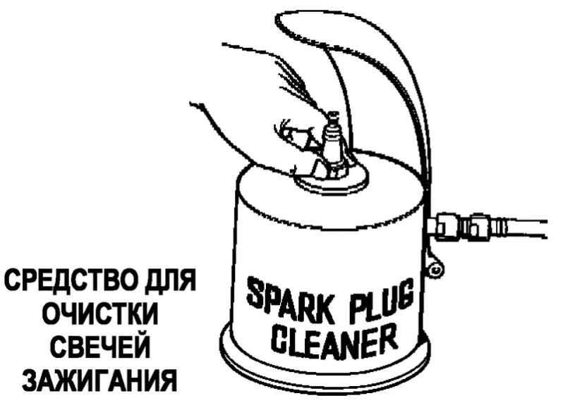 Аппарат для очистки свечей зажигания своими руками