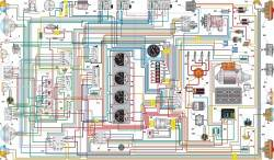 Схема электрооборудования автомобиля УАЗ–39095 с многофункциональными подрулевыми переключателями