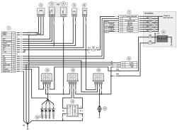 Схема 1. Соединения системы управления двигателем мод. ЗМЗ-5143.10
