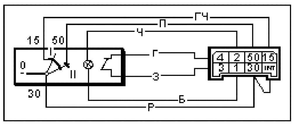 Вывод - Схема подключения