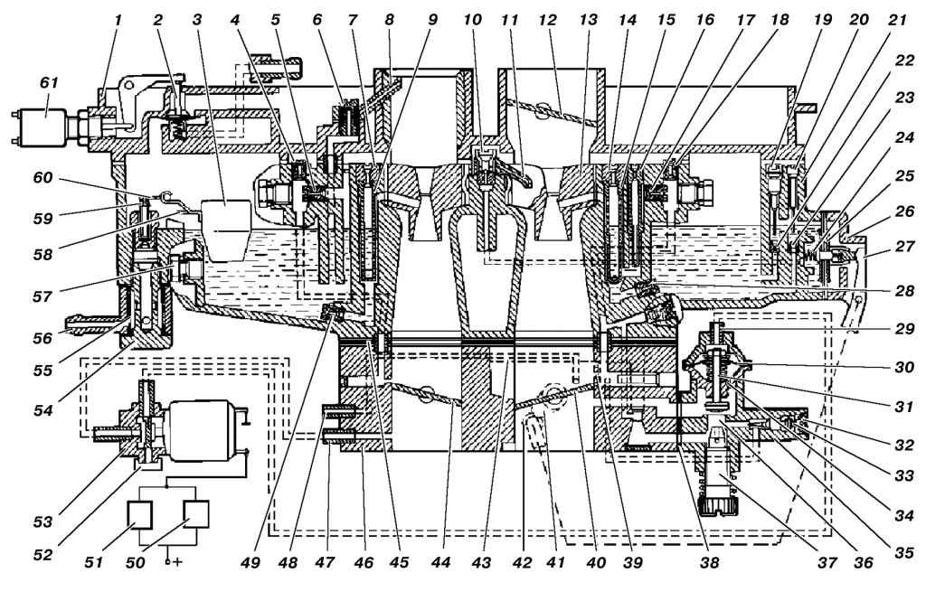 Схема каpбюpатоpа К-151Л.