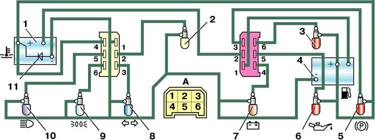11 – диод защиты приборов;