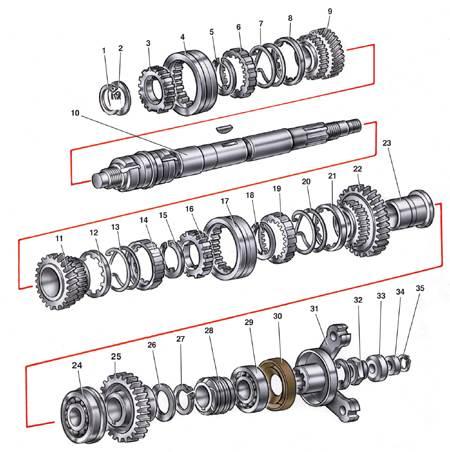 Сборка и разборка коробки передач Ваз 2107, Ваз 2105, Ваз 2104, Лада Жигули, Классика.