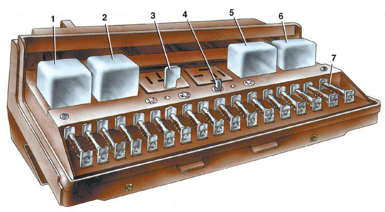 электрическая схема ВАЗ