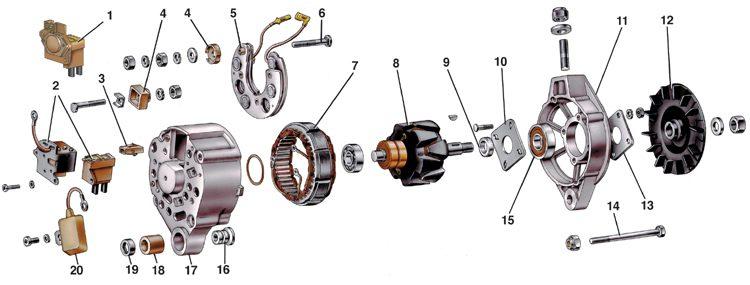 схема электрическая стационарного дизель-генератора мощностью 30квт. схема генератора се.