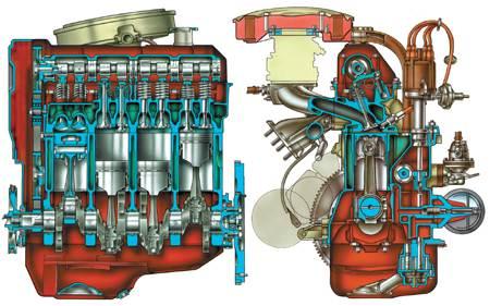 Двигатель ВАЗ-2105 Ruk2-1-2s