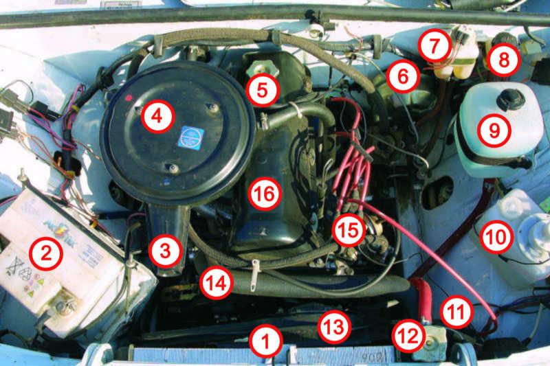 Порядок работы цилиндров двигателя внутреннего снорания.