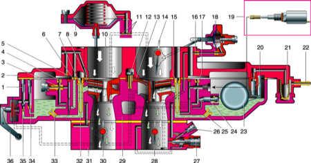 схема пускового устройства насоса