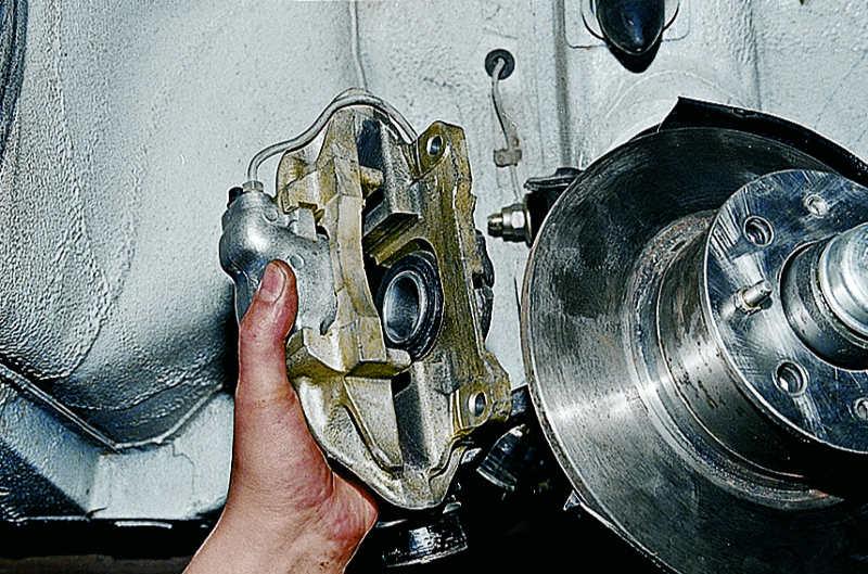 ремонт суппорта ваз 2106