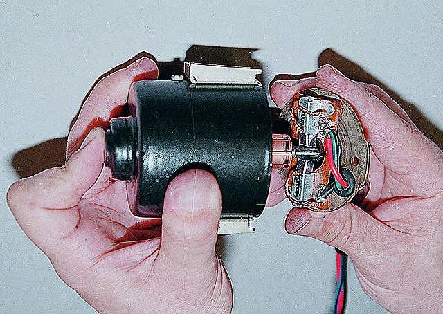 Замена коллектора якоря электродвигателя 2