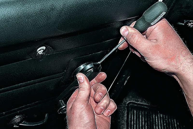 Как снять ручки стеклоподъемника на ваз 2107