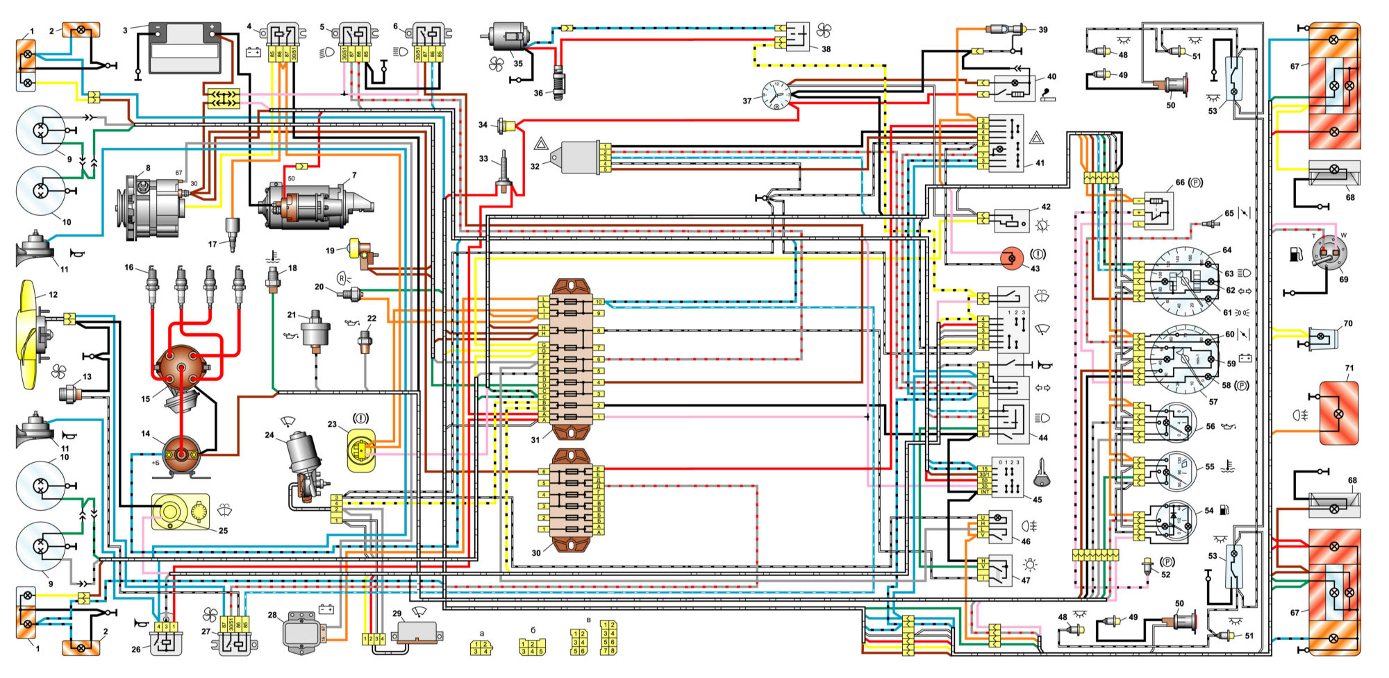 Continue Reading.  Электрическая схема стайер 02к Схема электрооборудования автомобиля ваз в чем измеряется...