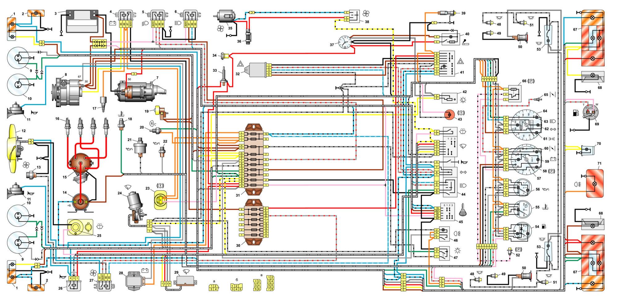 Ваз 21099 схема генератора фото 486