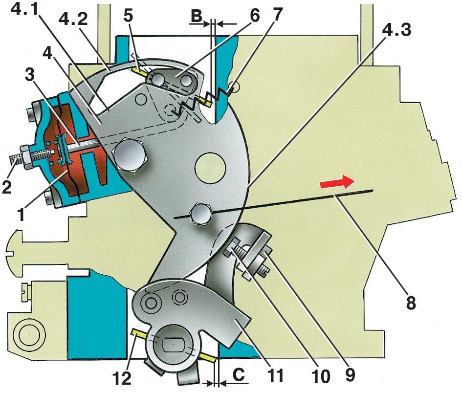 35 Нива ВАЗ 21213 карбюратор пусковое устройство 3 Пусковое устройство ОБЩИЕ СВЕДЕНИЯ.