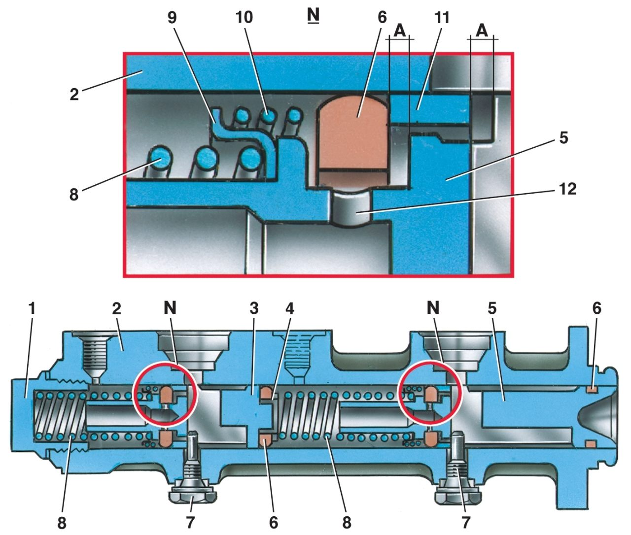Фото №13 - устройство главного тормозного цилиндра ВАЗ 2110