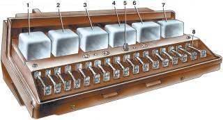 Большинство .  Принципиальная электрическая схема ВАЗ 2107 представлена ниже.  Каждый провод отмечен .