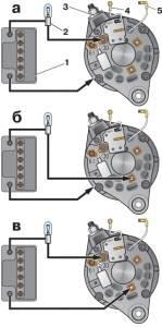 Электрооборудование.  Схемы для проверки вентилей выпрямителя. вход. регистрация.