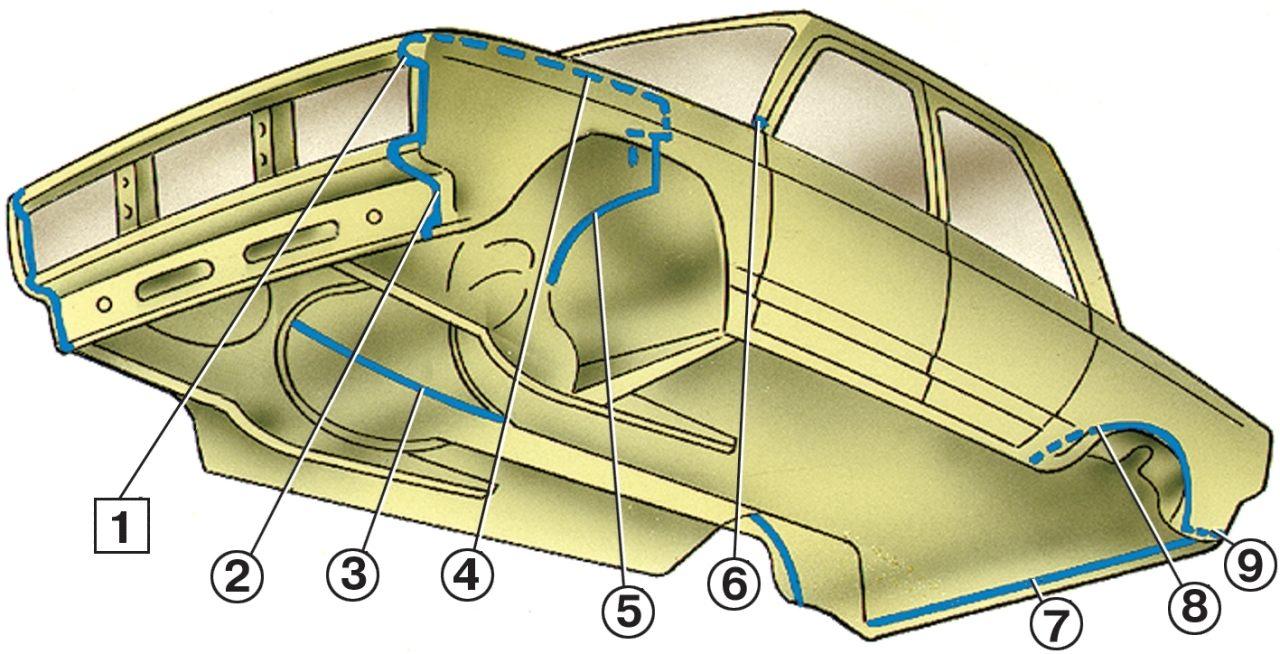 Как использовать ленту для герметизации швов