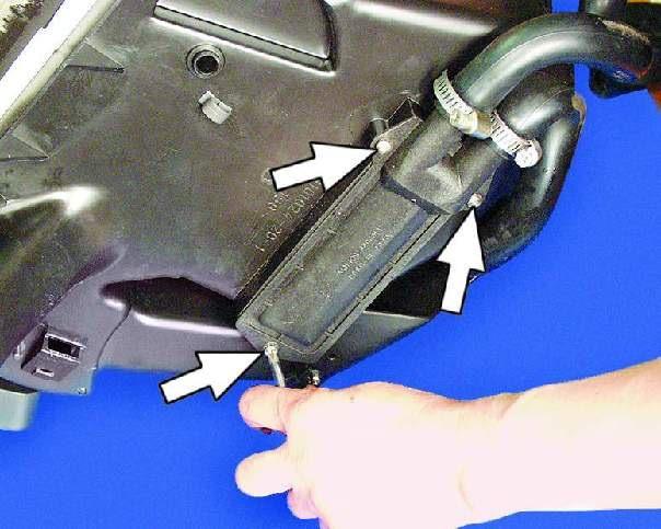 Радиатор отопителя автомобиля ваз 2109.