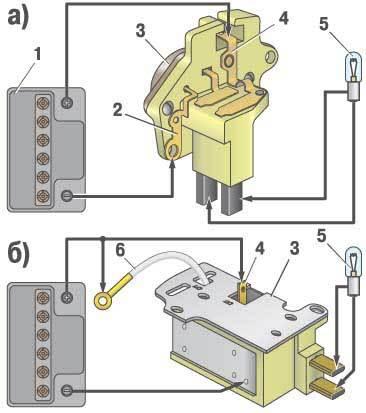 Работа регулятора напряжения заключается в непрерывном автоматическом изменении силы тока возбуждения генератора...