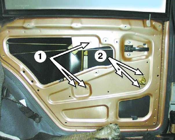 Освещение багажника Ваз 2112