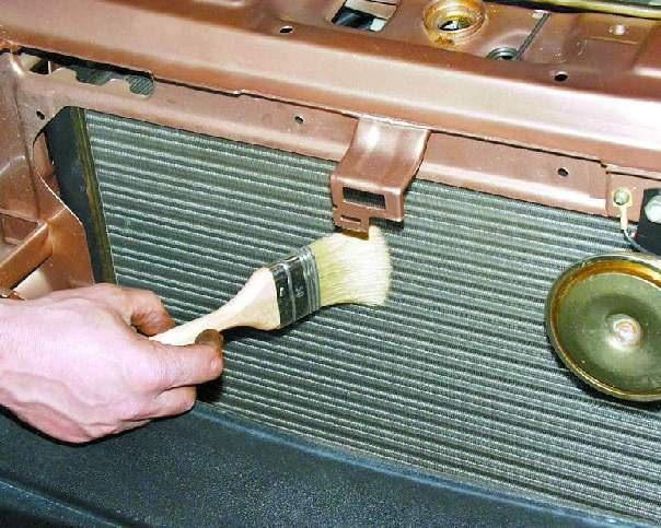 Как очистить радиатор своими руками