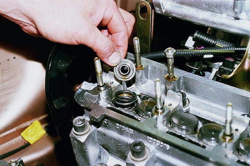 Замена двигателя на ваз 2110 8 клапанов своими руками