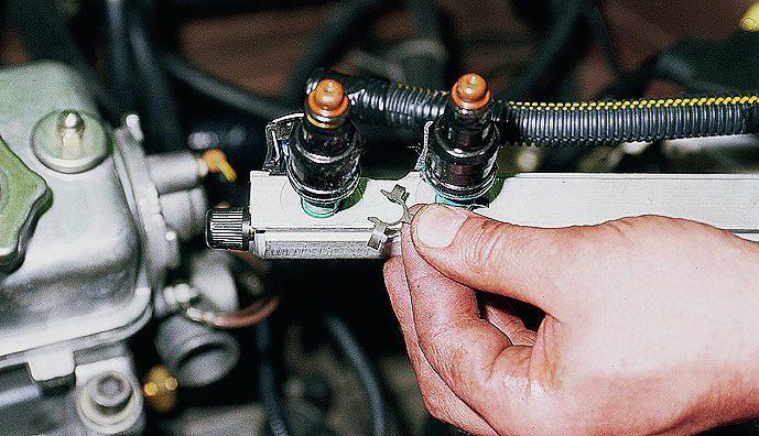 Фото №2 - ремонт ВАЗ 2110 инжектор