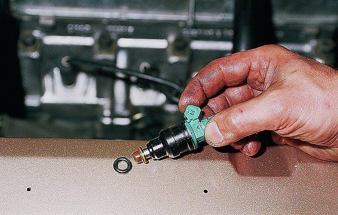 Как почистить инжектор ваз 2110 самому