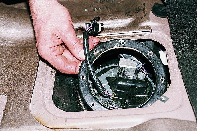 Замена моторчика в бензонасосе ваз
