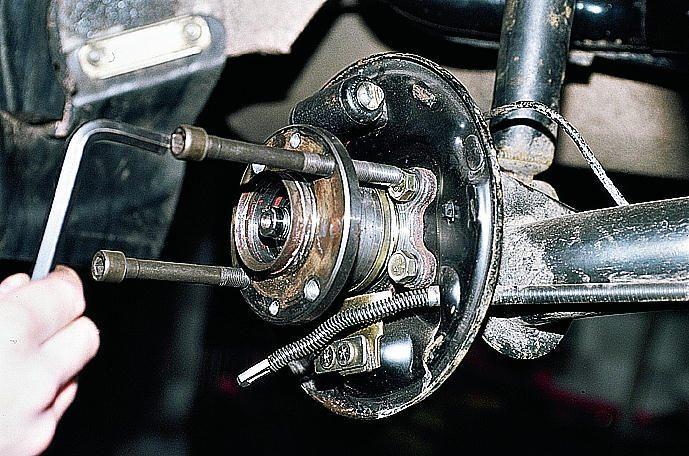 Замена заднего ступичного подшипника форд фокус 1.