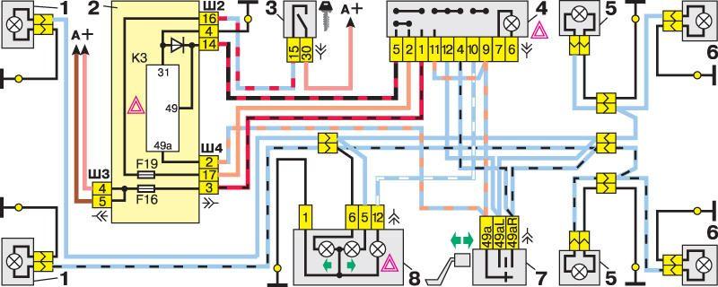 Вот схема цепи