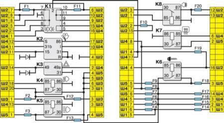 Электросхема ваз 2111 инжектор 16 клапанный