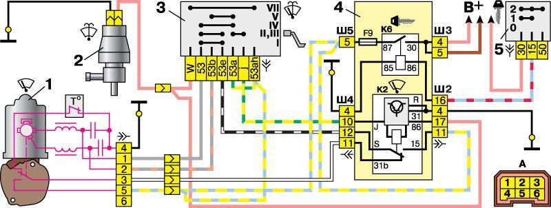Схема подключения мотора