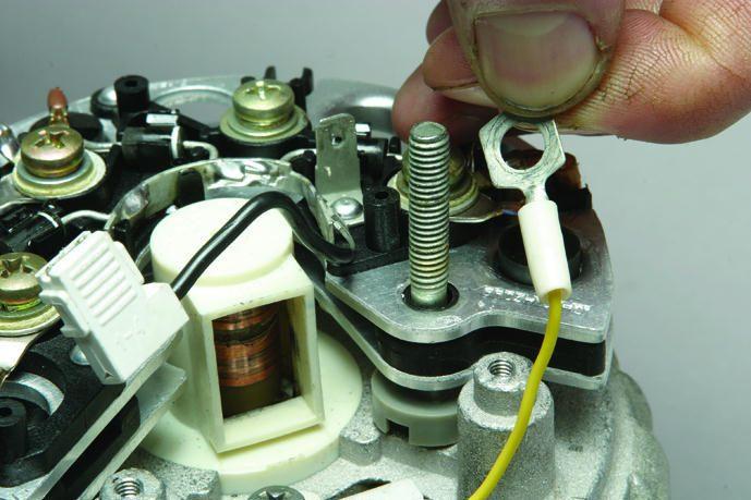Фото №4 - замена таблетки генератора ВАЗ 2110