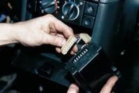 Рис. 1-8. автомобилей ваз 2110 ваз 2111 ваз 2112. блок индикации бортовой системы контроля Блок индикации бортовой...