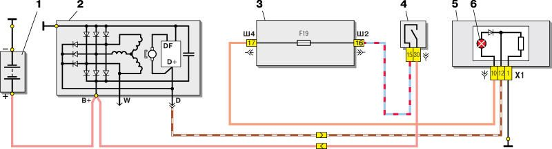 2 июн 2013 как только подключения генератора ваз схема 2110 провод рукой вставить.