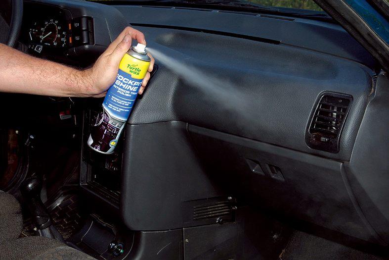 Чистка панели автомобиля своими руками лучшее средство