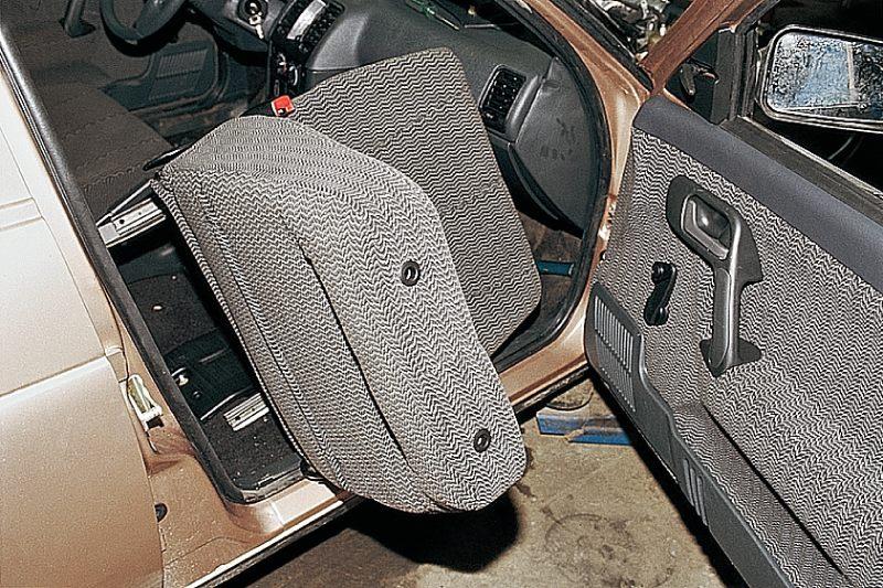 Снятие и установка переднего сиденья и салазок Ваз 2110, Ваз 2111, Ваз 2112, Лада Десятка.