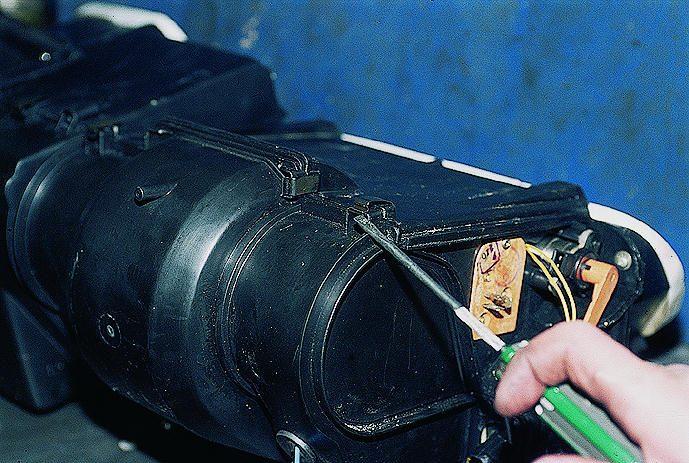 электрическая схема пежо406 дизель.