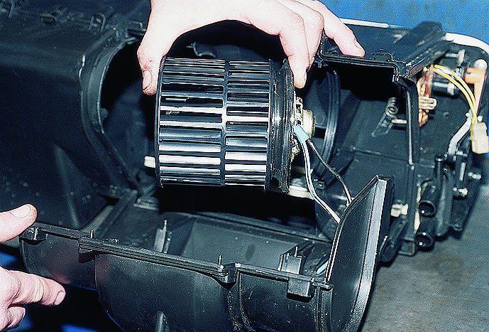 Ремонт своими руками электродвигателя автомобильной печки