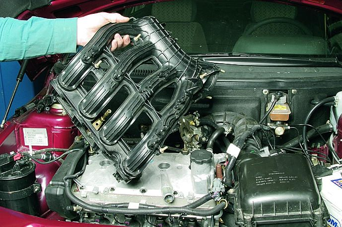 периодический заливает двигатель ваз канал