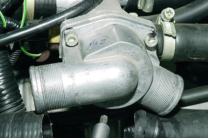 Фото №5 - как выглядит термостат на ВАЗ 2110